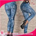 casual de bajo precio leggins estampados para las mujeres