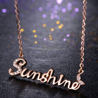 china bead alloy 8mm 10mm 18mm slider charm cheap letter necklaces