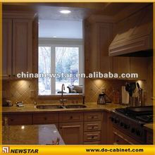 High gloss finish kitchen cabinet