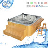 Hot sale Massage Aristech acrylic balboa hot tub for 5 person hot tub(BG-8808)