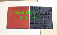 safety playground/outdoor pathway rubber flooring tiles 40mm