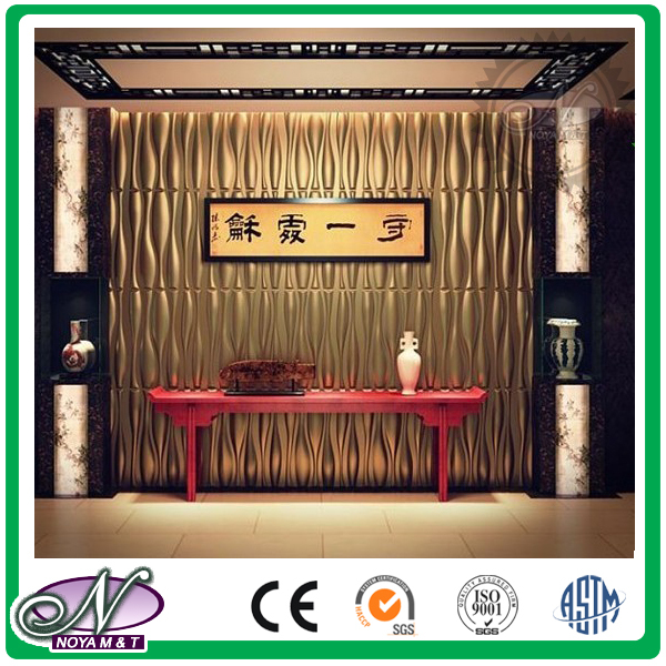 Acoustic insulation custom color cheapest price 3d tiles