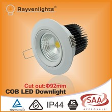 TUV certificate adjustable 10w LED Recessed Downlights