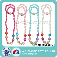 Hot selling trendy girl jewelry play set jewelry necklace toy