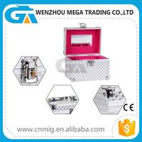 Mini Cute Popular Aluminium Factory Price Direct Selling Cosmetic Case and Box