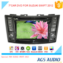 gps touch screen car dvd vcd cd mp3 mp4 player for SUZUKI SWIFT 2012
