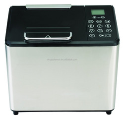 stainless steel electric automatic bread maker with jam and yogurt