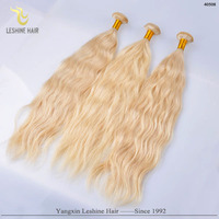 Factory directed wholesale blonde virgin star quality hair extensions