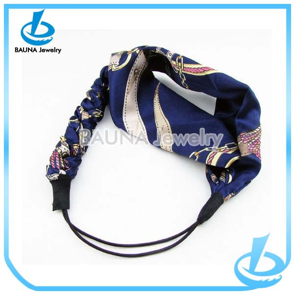2015 new fashion hair accessories elastic headbands for women