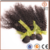 High quality raw unprocessed kinky curly hair wholesale pure indian remy virgin human hair weft