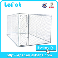 Hot sale dog kennel/chain link dog kennel/professional made cheap dog cage