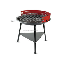 Top Sale Outdoor Kitchen Smoke Charcoal Bbq Grill Barbecue Black Bbq Grills Party BBQ Drill