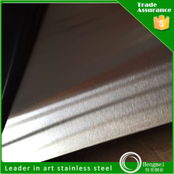 wholesale china import aisi 304 stainless steel sheet hairline surface for kitchen accessory