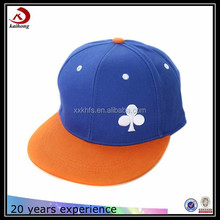 Plum flower embroidered no printing custom logo snapback man hat caps