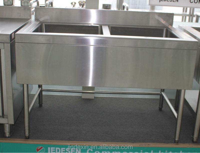 Knockdown design industrial inox kitchen sink commercial for Industrial style kitchen sink