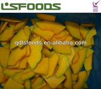 2013 New Crop Chinese IQF Frozen Pumpkin
