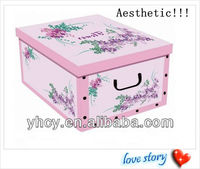 Color A4 Paper Storage Box /Perfect Decorative Homehold Boxes
