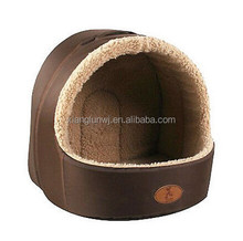 Deluxe Soft Pet Pets Bed Dog Puppy Cat Puppy Bed House Sleeping Warm Mat Cave