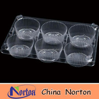 6 Pcs Food Container Plastic Food Packing Box NTPC- 021B