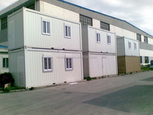 two storage temporary container house
