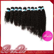 wholesale Raw 100 human hair afro kinky hair ponytail