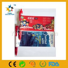 Promotional pull out banner pen with LED light/ Advertising banner pen/Retractable flag logo pen