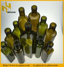 Empty coconut oil glass bottle manufacturer