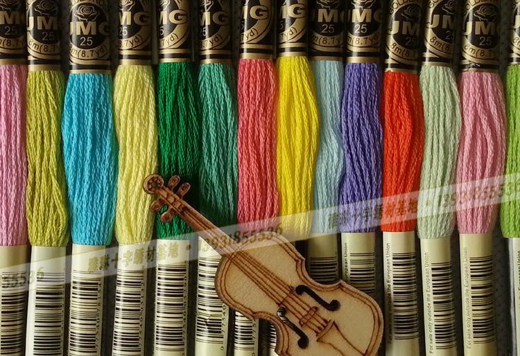 Шелковый нити для ручной вышивки