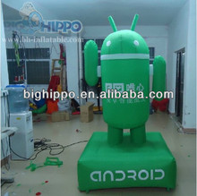 Inflatable Android Cartoon