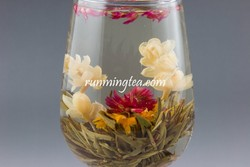 Love At The First Sight Green Flowering Tea
