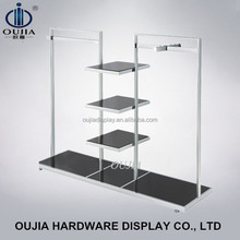 luxry clothes display rack/stand clothes hanger rack/display rack for clothes