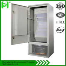 Smart scroll filtered fresh air conditioner system for outdoor small beastation