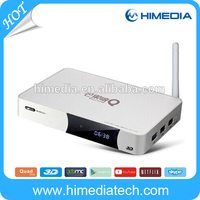 A9 based 4K H.265 support 2GB DDR Android 4.4OS quad core TV box HiMedia Q5