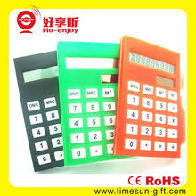 Bottom price portable smart kenko calculator with pen holder and paper