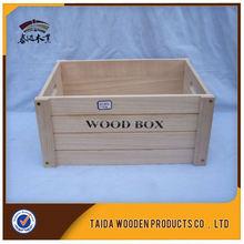 China Saupplier Antique Wood Fruit Box Wholesale