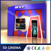 Most Popular 8D/9D/Xd Cinema Amusement Aqua Park 4/6/9/12 Seats 5D Projector Cinema