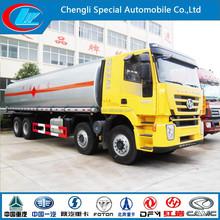 Euro IV carbon steel truck for palm oil 35M3 tank truck design 30000liters oil petrol tank trucks fuel for sale
