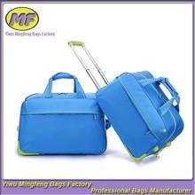Custom New Multifunction Tote Travel Trolley Bag for Men