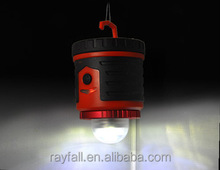 385 lumen white red 2 color 6 modes D size battery led camping lanterns