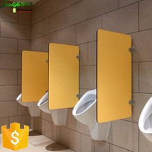 jialifu customize compact laminate urinal divider board