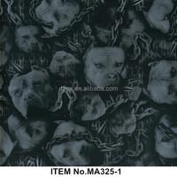 Wholesale skull pattern 90/100cm width water transfer printing,water transfer printing film,hydrographic film No.MA325-1