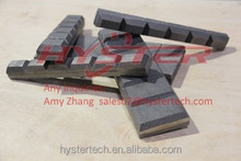 White Iron ASTM A532 Excavator Parts Chock Block Cat Bucket wear protection parts