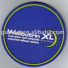 3D LENTICULAR COASTER rubber base