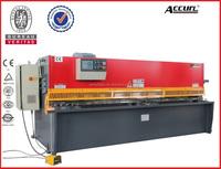CNC hydraulic swing beam cutting machine with high precision