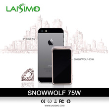 2015 SNOW WOLF 60 Watt Box Mod Variable and Temperature control SNOW WOLF 75W