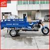 WY CG150 Motor Gasoline 3 Wheel Enclosed Motorcycle / Three Wheeler Cabin Tricycles