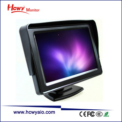 Manufacturer 5 inch LCD Monitor With AV Input 5inch TFT Car LCD Monitor