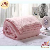 Handmade Mulberry Satin Stripe Silk Quilt/ comforter/ blanket/ bedspreads
