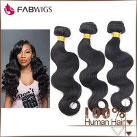 7A Factory direct Wholesale cheap Body wave natural color fast delivery brazilian hair weave free shipping