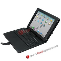 5000mAh Power Bank Bluetooth Keyboard Leather Case for iPad 2